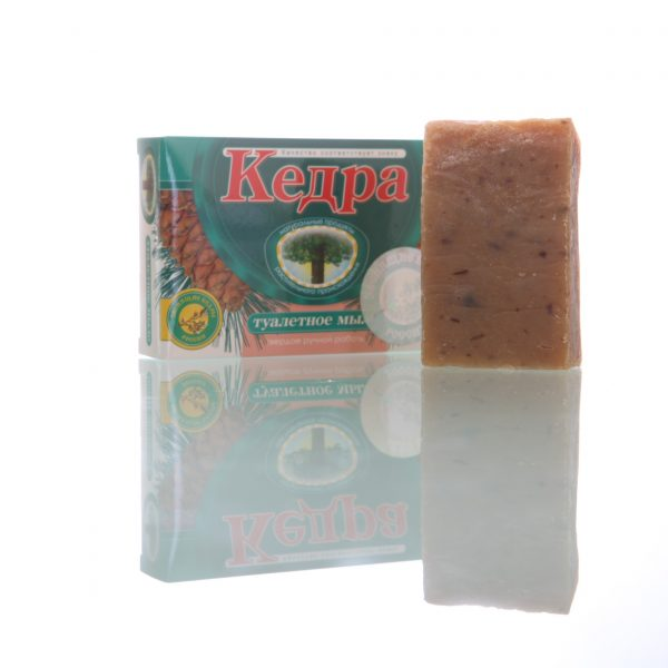 Cedra soap milk/honey on the basisof cedar nut oil