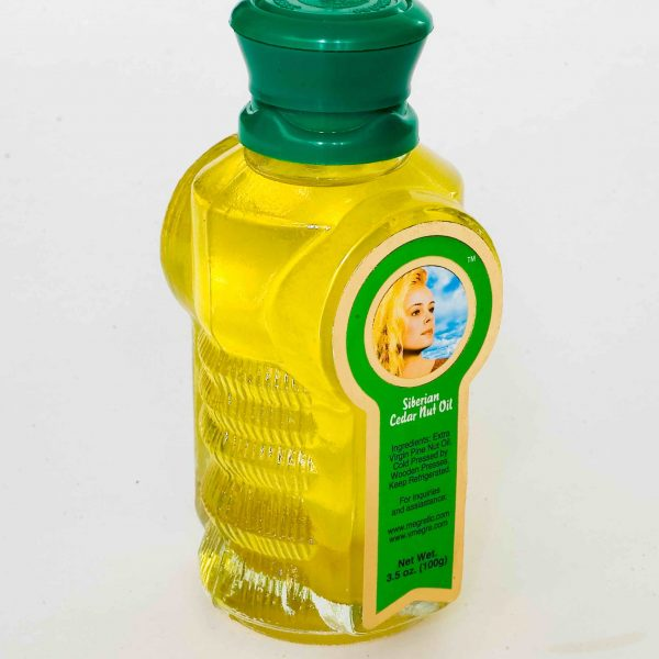 Cedar nut oil 100g bottle